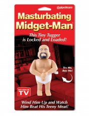 WIND UP MASTURBATING MIDGET MAN