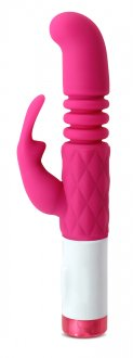 LUXE G RABBIT PLUSH STROKER PINK