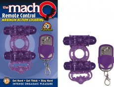 MACHO REMOTE CONTROL COCK PURPLE