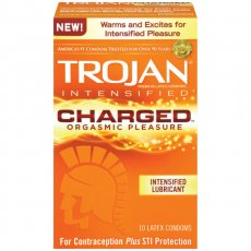 TROJAN INTENSIFIED CHARGED 10 PACK