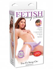 FETISH FANTASY TRU FIT STRAP ON PURPLE
