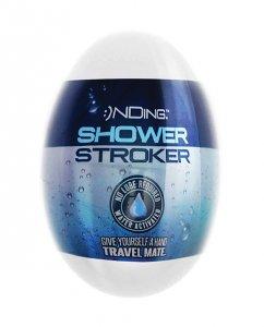 Shower Stroker Travel Mate - White