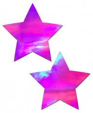 PASTEASE HOLOGRAPHIC STAR PINK
