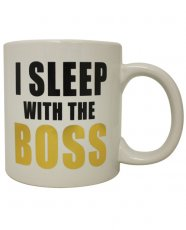 ETA 08/15/19=Attitude Mug I Sleep with the Boss