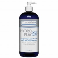 TITANMEN HYDRO PLAY WATER BASED GLIDE 32 OZ (BU)