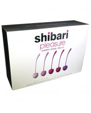 SHIBARI CHERRY KEGEL BALLS 5PC SET