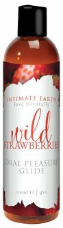 INTIMATE EARTH GLIDE STRAWBERRY 4 OZ