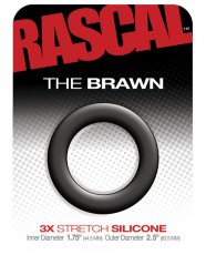 RASCAL STARTER KIT BRAWN COCK RING BLACK