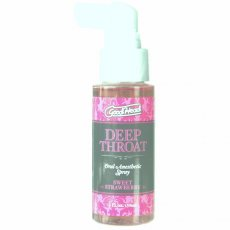 GOODHEAD DEEP THROAT SPRAY STRAWBERRY