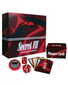 Secret Vll - A Provocative Adult Game for Exploring Minds