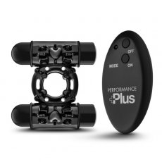 PERFORMANCE PLUS DOUBLE THUNDER WIRELESS REMOTE RECHARGEABLE VIBRATING