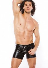 ZEUS MENS WETLOOK SHORTS
