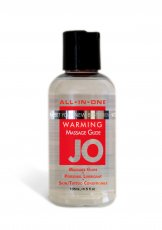 JO 4 OZ ALL IN ONE WARMING MASSAGE GLIDE