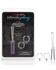 Intimate Play Nipple & Clitoral Body Jewelry - Amethyst