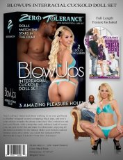 ZERO TOLERANCE BLOW UPS INTERRACIAL CUCKOLD BLACK MALE & WHITE FEMALE LOVE DOLLS
