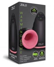 Zolo Pulsating Warming Dome Male Stimulator