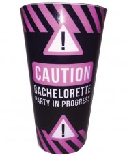 Caution Bachelorette Party in Progress Drinking Cup