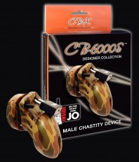 CHASTITY DEVICE CAMO 2 1/2 ""