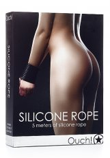 SILICONE ROPE BLACK