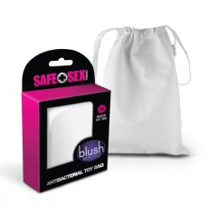 SAFE SEX ANTIBACTERIAL TOY BAG SMALL