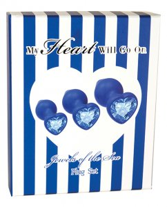 My Heart Will Go On Plug Set - Jewelry of the Sea