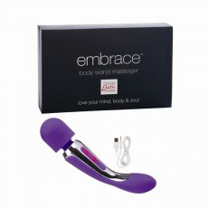 EMBRACE BODY WAND MASSAGER PURPLE