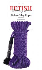 FETISH FANTASY SERIES DELUXE SILK ROPE PURPLE