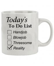 Attitude Mug Today's to do List