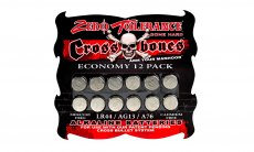 ZERO TOLERANCE CROSSBONES 12 PACK LR44 BATTERY