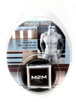 RING MEGA NITRILE MEDIUM BLACK