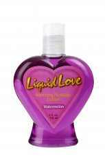 LIQUID LOVE WARMING MASSAGE LOTION WATERMELON