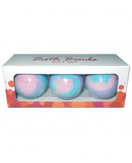 Multi Color Bath Bombs - Lavender Pack of 3