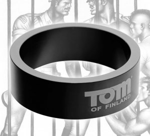 (WD) TOM OF FINLAND 60MM ALUMI COCK RING