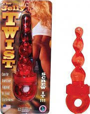JELLY TWIST-RED