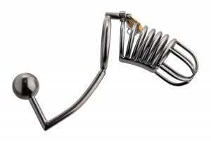 MASTER SERIES CONDEMMED PENETRATION CAGE W/ANAL & URETHRAL INSERTION