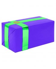 Gift Wrapping For Your Purchase (Purple w/Teal Ribbon)-Extra Day to Ship