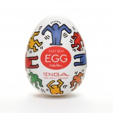 KEITH HARING EGG DANCE (NET)