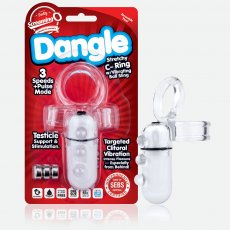 DANGLE C RING CLEAR (EACHES)