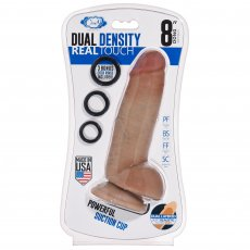 CLOUD 9 DUAL DENSITY REAL TOUCH THICK W/ REALISTIC PAINTED VEINS & BALLS 8 IN W/