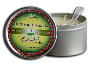 CANDLE 3 N 1 CUCUMBER MELON 6.8 OZ