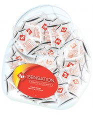 ID Sensation Waterbased Warming Lubricant Pillows - Bowl of 144