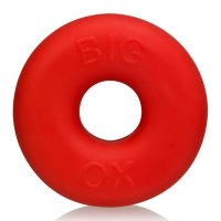 BIG OX COCKRING OXBALLS SILICO NE TPR BLEND RED ICE