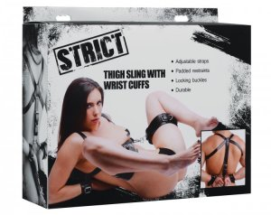 STRICT THIGH SLING W/WRIST CUFFS