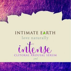 INTIMATE EARTH INTENSE CLITORAL GEL FOIL PACK 3ml (EACHES)