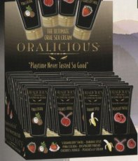 ORALICIOUS ORAL SEX CREAM 24PC DISPLAY
