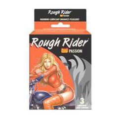 ROUGH RIDER HOT PASSION WARMING 3PK
