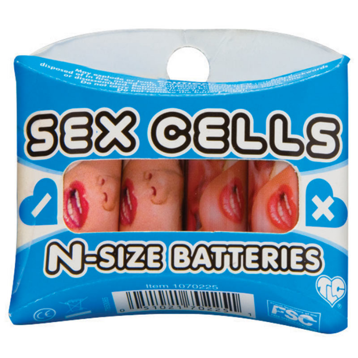 SEX CELLS N-SIZE BATTERIES 4PK