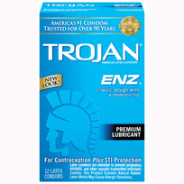 TROJAN ENZ LUBRICATED 12 PK