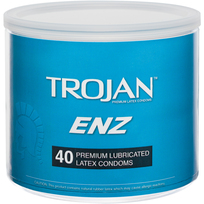 TROJAN ENZ LUBRICATED 40PC BOWL