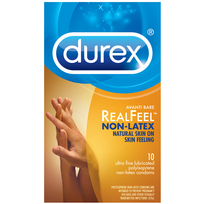 DUREX AVANTI REEL FEEL NON LATEX 10 PACK